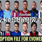 PES 2020 Option File Update 30/09/2020 For EvoWeb Patch 8.0
