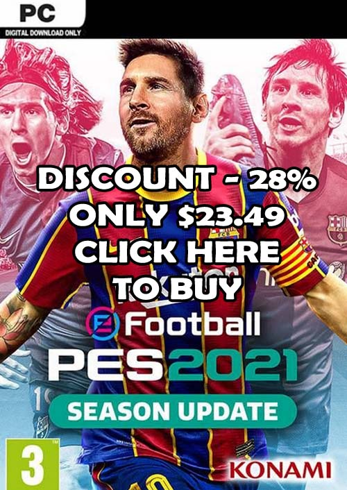 Buy PES 2021 For PC With -28% Discount