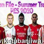 PES 2020 Option File All Summer Transfer Update October 2020