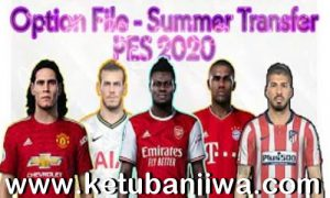 eFootball PES 2020 Option File All Summer Transfer Update 11 October 2020 For Original Games + EvoWeb Patch Ketuban Jiwa