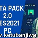 PES 2021 Data Pack - DLC 2.0 Single Link