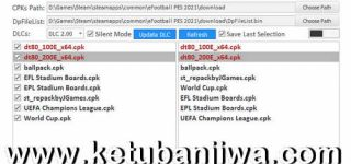 eFootball PES 2021 DpFileList Generator Tools 1.0 DLC 2.0 by MjTs-140914 Ketuban Jiwa