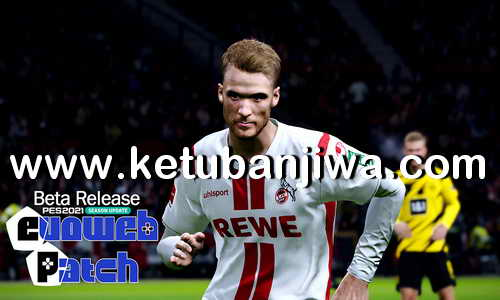 eFootball PES 2021 EvoWeb Patch Beta Version For PC Ketuban Jiwa