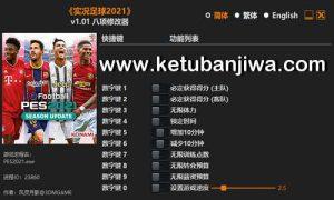 eFootball PES 2021 FLiNG Trainer Patch 1.01 3DM Ketuban Jiwa