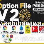 PES 2021 PESUniverse Option File v2 AIO For PC + PS4