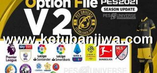 PES 2021 PESUniverse Option File v2 AIO For PC + PS4