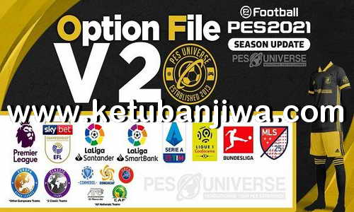 eFootball PES 2021 PESUniverse Option File v2 For PC + PS4 Ketuban Jiwa