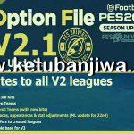 PES 2021 PESUniverse Option File 2.1 AIO For PC + PS4