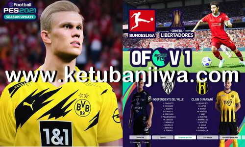 eFootball PES 2021 PS4 AndrewPES Option File Mix v1 Compatible DLC 2.0 Ketuban Jiwa
