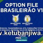 PES 2021 PS4 EditemosPES Brasileirão Opiton File v1 DLC 2.0