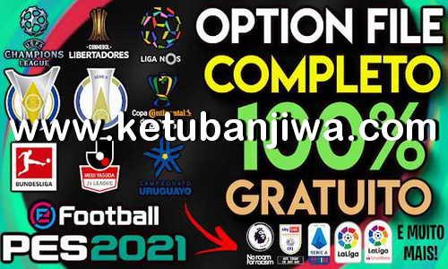 eFootball PES 2021 PS4 PesVicioBR Option File v4 AIO Ketuban Jiwa
