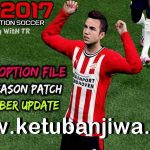 PES 2017 Option File Update 23 November 2020 For Next Season Patch