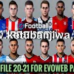 PES 2020 Option File Update 16/11/2020 For EvoWeb Patch 8.0