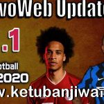 PES 2020 Unofficial EvoWeb Patch 8.1 Update Next Season 2021