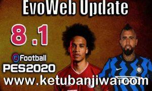 PES 2020 Unofficial EvoWeb Patch v8.1 Update Next Season 2021 by Del Choc Ketuban Jiwa