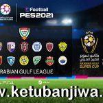 PES 2021 Arabian Gulf League Option File v1 For PC + PS4