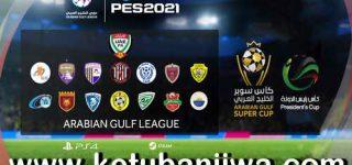 PES 2021 Arabian Gulf League Option File For PC + PS4 by AGL PES Ketuban Jiwa
