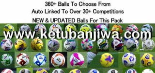PES 2021 Ball Server Pack v5 AIO by hawke Ketuban Jiwa