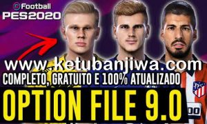 eFootball PES 2020 PesVicioBR Option File 9.0 AIO Season 2021 For PlayStation 4 Ketuban JIwa
