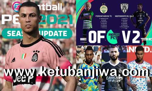 eFootball PES 2021 AndrewPES Option File Mix v2 AIO For PS4 Ketuban Jiwa