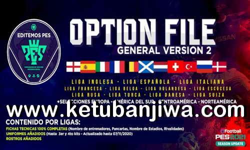 eFootball PES 2021 EditemosPES Opiton File v2 AIO For PlayStation 4 Ketuban Jiwa