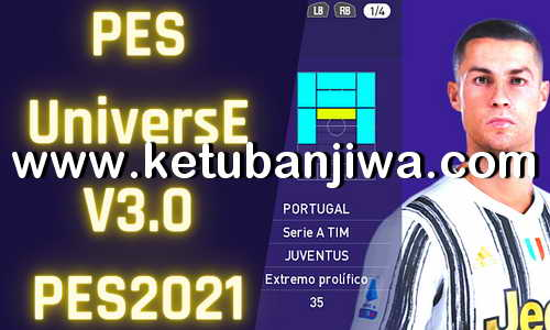eFootball PES 2021 PESUniverse Option File v3.0 AIO For PC + PS4 Ketuban Jiwa