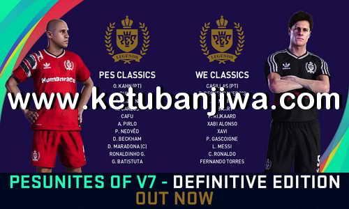 eFootball PES 2021 PESunites Option File v7 AIO For PC + PS4 Ketuban JIwa