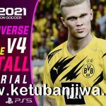 PES 2021 PESUniverse Option File 4.0 AIO For PC + PS4 + PS5
