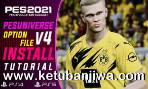 Download eFootball PES 2021 PES Universe Option File v4.0 AIO For PC + PS4 + PS5 Ketuban Jiwa
