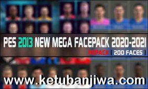 PES 2013 Mega Facepack 200 Faces Season 2021 by RGH Mods Ketuban JIwa