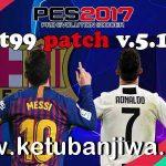 PES 2017 T99 Patch 5.1 AIO Final Season 2021