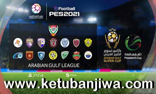 PES 2021 Arabian Gulf League Option File v1.05 Compatible DLC 3.0 For PC + PS4 by AGL PES Ketuban Jiwa