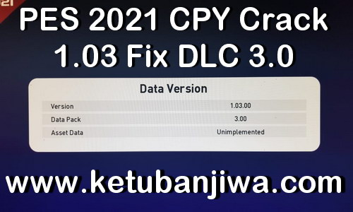 PES 2021 CPY Crack 1.03 Fix For DLC 3.0