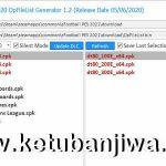 PES 2021 DpFileList Generator Tools 1.0 For DLC 3.0