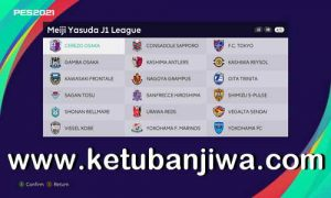 PES 2021 J1 League Add-on For Any Patch PC by Mahanddeem Ketuban Jiwa