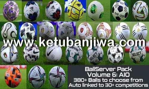 PES 2021 + PES 2020 Ballserver Pack v6 AIO by Hawke Ketuban Jiwa