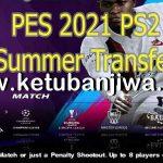 PES 2021 PS2 Summer Transfer ISO English