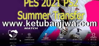 PES 2021 PS2 Summer Transfer ISO English