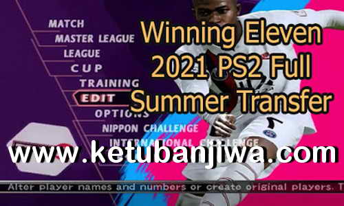 Winning Eleven 2021 PS2 ISO Full Summer Transfer