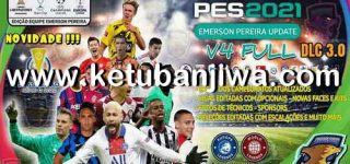 eFootball PES 2021 Emerson Pereira Option File v4 AIO Compatible DLC 3.0 For PC + PS4 + PS5 Ketuban JIwa
