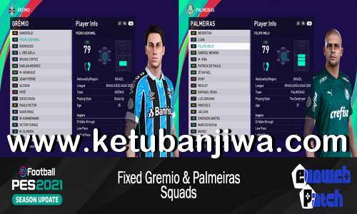 eFootball PES 2021 EvoWeb Patch 2.0 Update 1 Fix Ketuban Jiwa