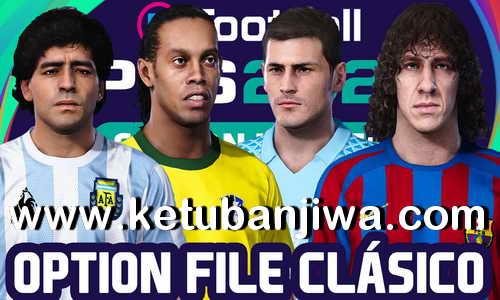 eFootball PES 2021 Selections Classic Option File For PS4 Ketuban JIwa