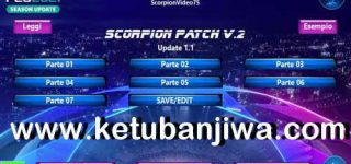 PES 2021 Scorpion Patch v2 AIO + Update 1.1