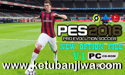 PES 2016 Option File v1 January Next Season Patch 2021