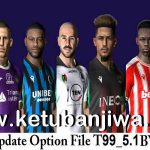 PES 2017 Option File Update 08/01/2021 T99 Patch 5.1