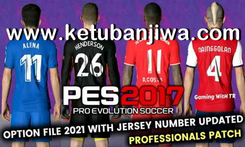 PES 2017 Option File Update 11/01/2021 For Professionals Patch