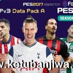 PES 2017 Seventeen Patch 3.0 Update Data Pack A