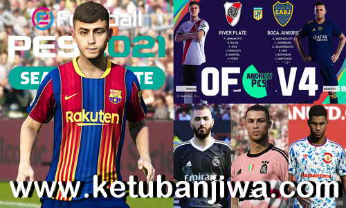PES 2021 AndrewPES Option File v4 AIO For PlayStation 4 Ketuban Jiwa