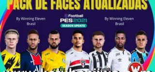 PES 2021 Mega Facepack v1 3200 Faces For All Patch by Winning Eleven Brasil Ketuban Jiwa