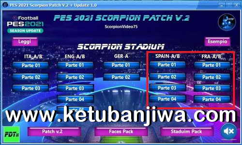 PES 2021 Scorpion Patch v2 AIO + Update 1.0